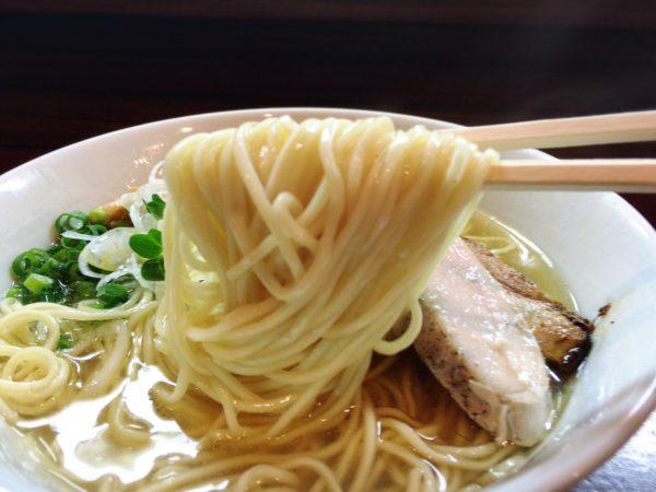 『塩鶏そば』| 麺屋くまがい