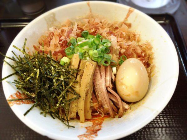 『辣香まぜそば』|麺奏 神楽