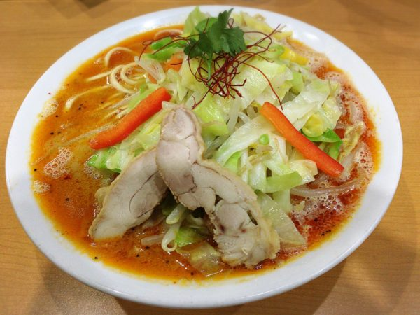 『辛タンメン』|麺や雄大