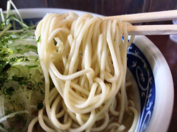 『塩ラーメン』 麺屋八