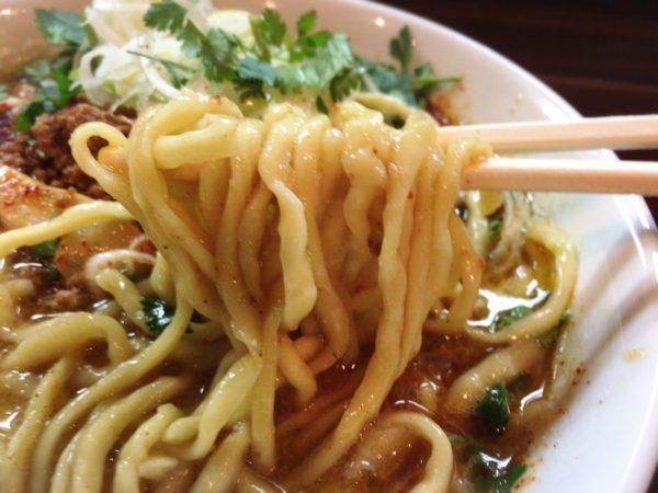 限定麺『エスニック担々麺』|麺屋くまがい